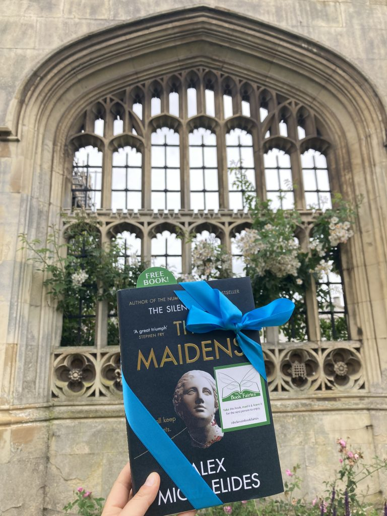 The Book Fairies work with Orion Books on The Maidens promotion at King's College