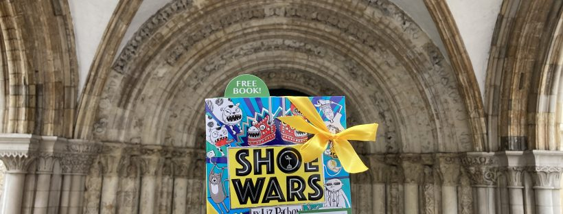 The Book Fairies share Scholastic children's book Shoe Wars in Temple London