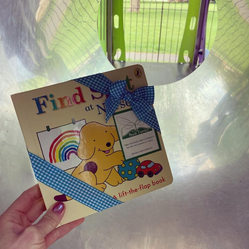 Book fairies hide Find Spot At Nursery at amazing places around the UK - in South Shields
