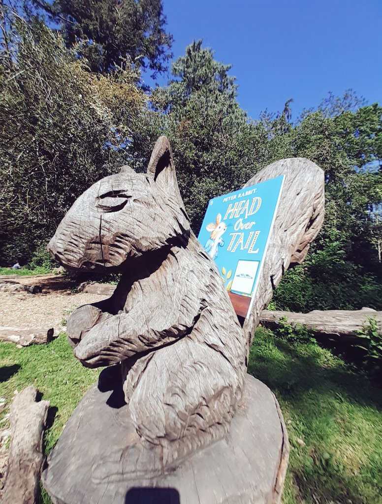 New Peter Rabbit adventure Head Over Tail shared by book fairies in London