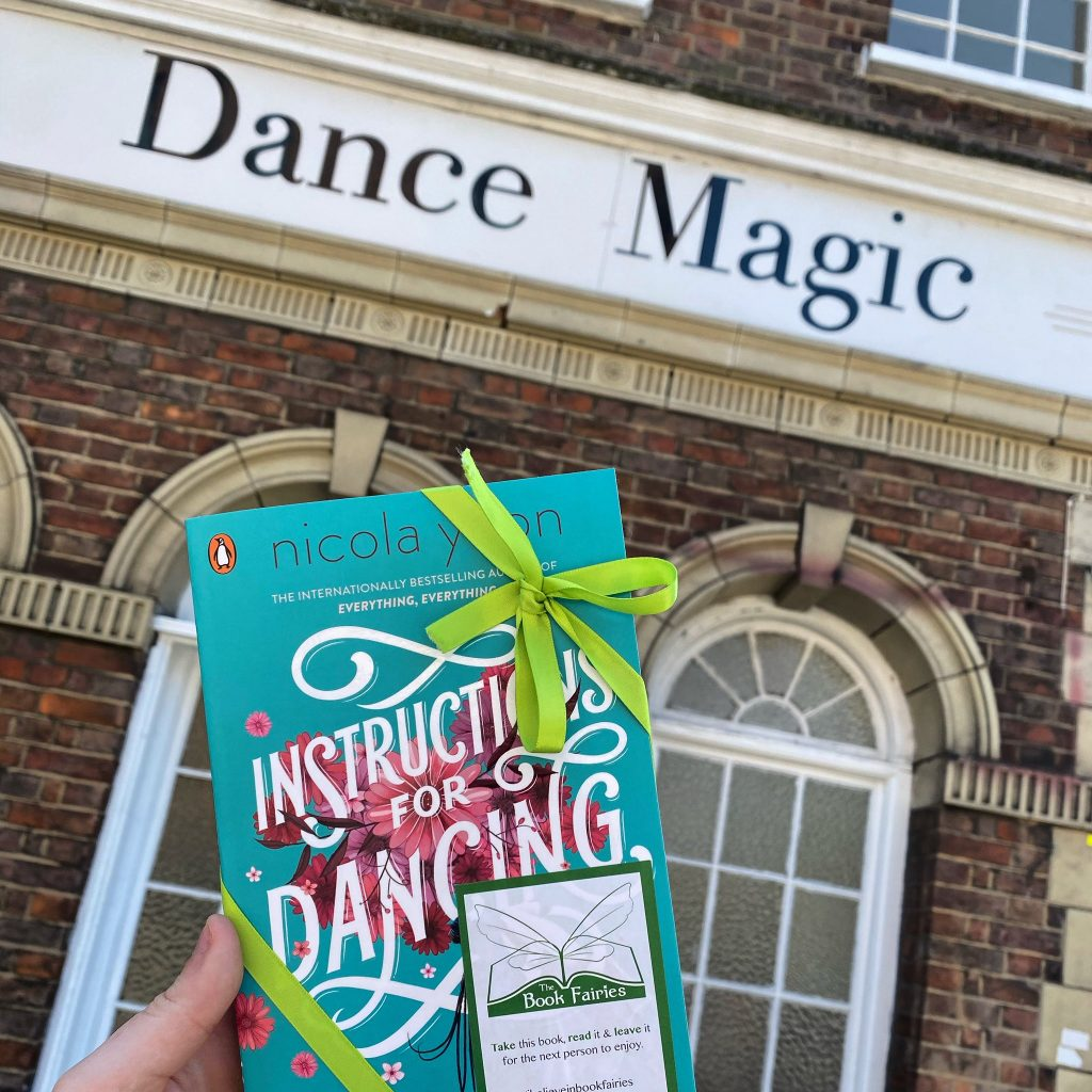 Nicola Yoon's new novel Instructions for Dancing hidden by The Book Fairies - Dance Magic in Finchley