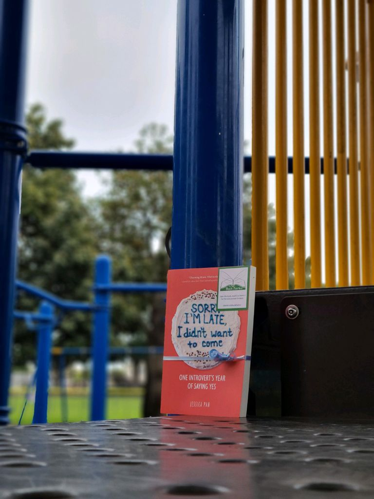 Book fairies in North America hide copies of Sorry I'm Late I Didn't Want To Come in California