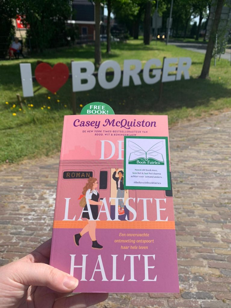 The Book Fairies in the Netherlands shared De Laatste Halte by Casey McQuiston in Borger