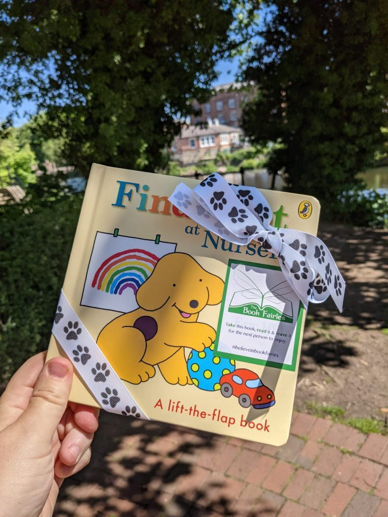 Book fairies hide Find Spot At Nursery at amazing places around the UK - in Derby