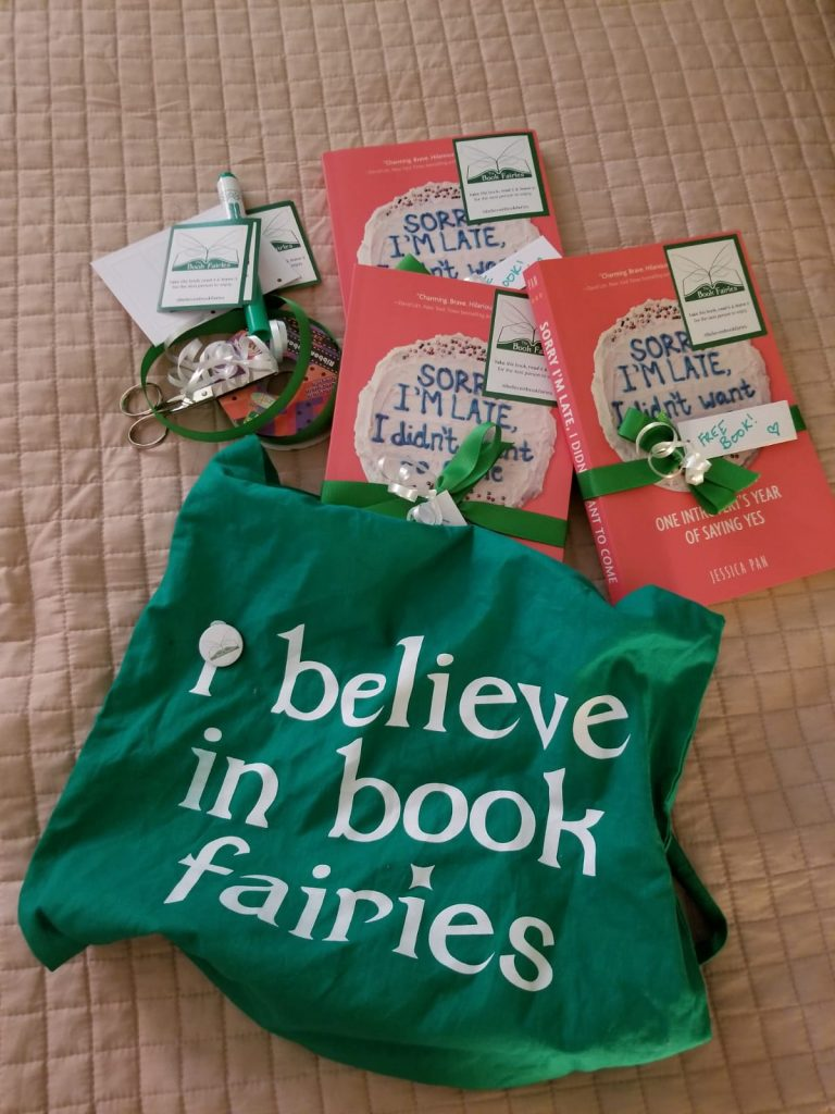 Book fairies in North America hide copies of Sorry I'm Late I Didn't Want To Come - getting ready in New York