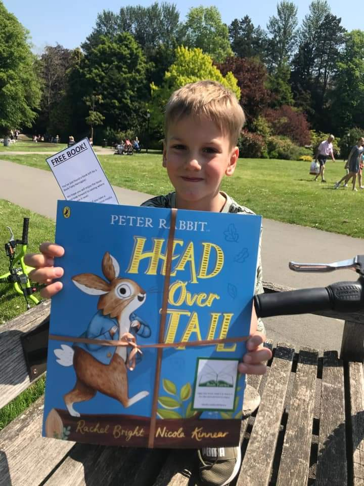 New Peter Rabbit adventure Head Over Tail shared by book fairies - book finder