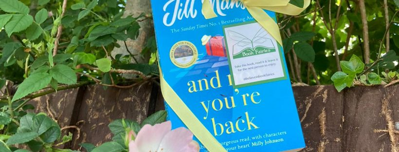 The Book Fairies and Jill Mansell share copies of And Now You're Back in Ayrshire