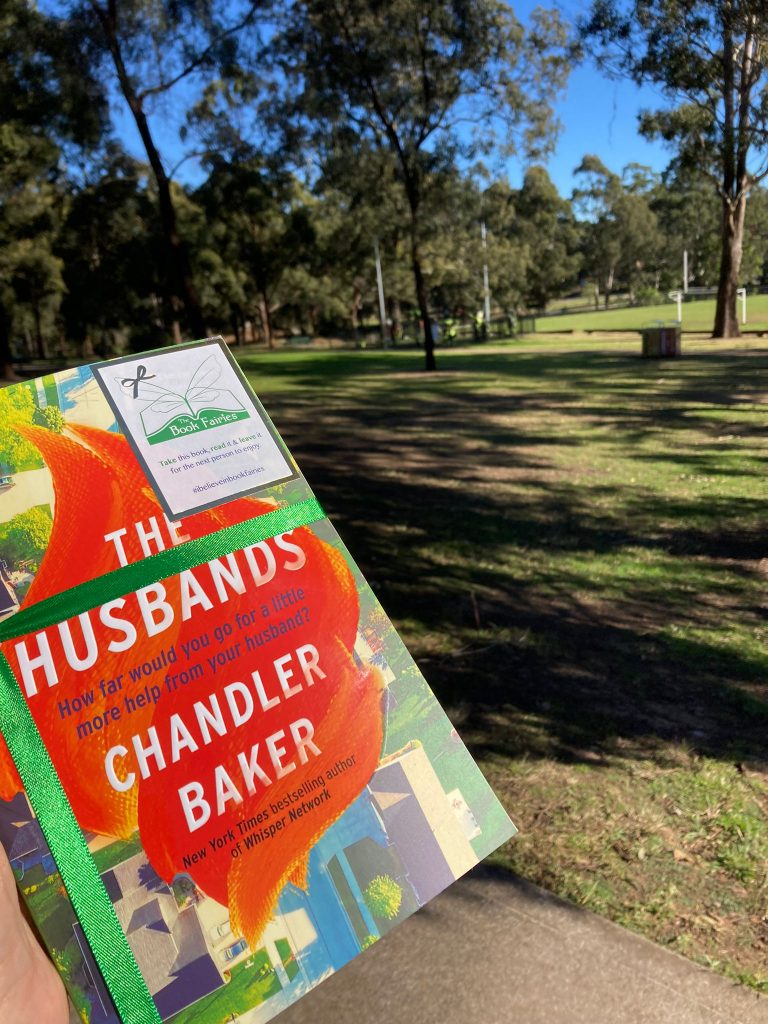 Book Fairies in Australia shared copies of The Husbands by Chandler Baker in Sydney