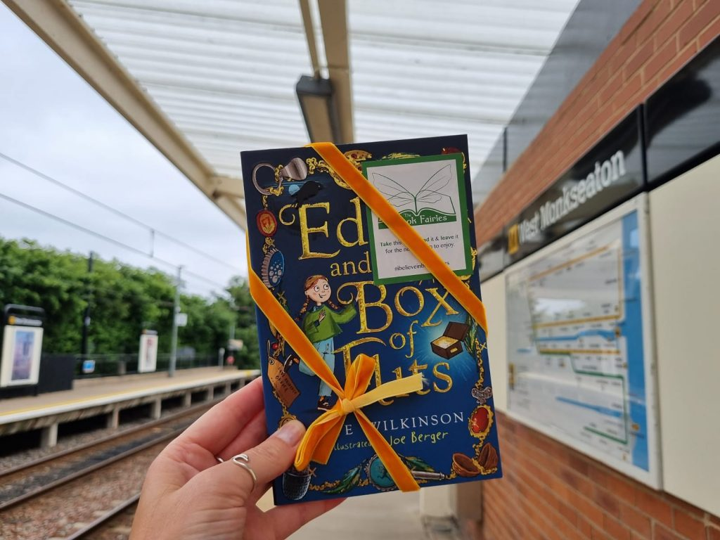 Edie and the Box of Flits hidden by The Book Fairies in Derby