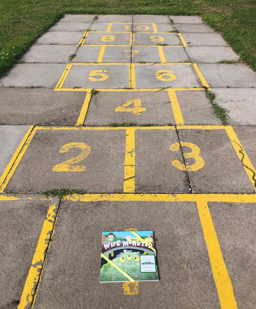 Hopscotch Lily and the Wipe Monster joins The Book Fairies