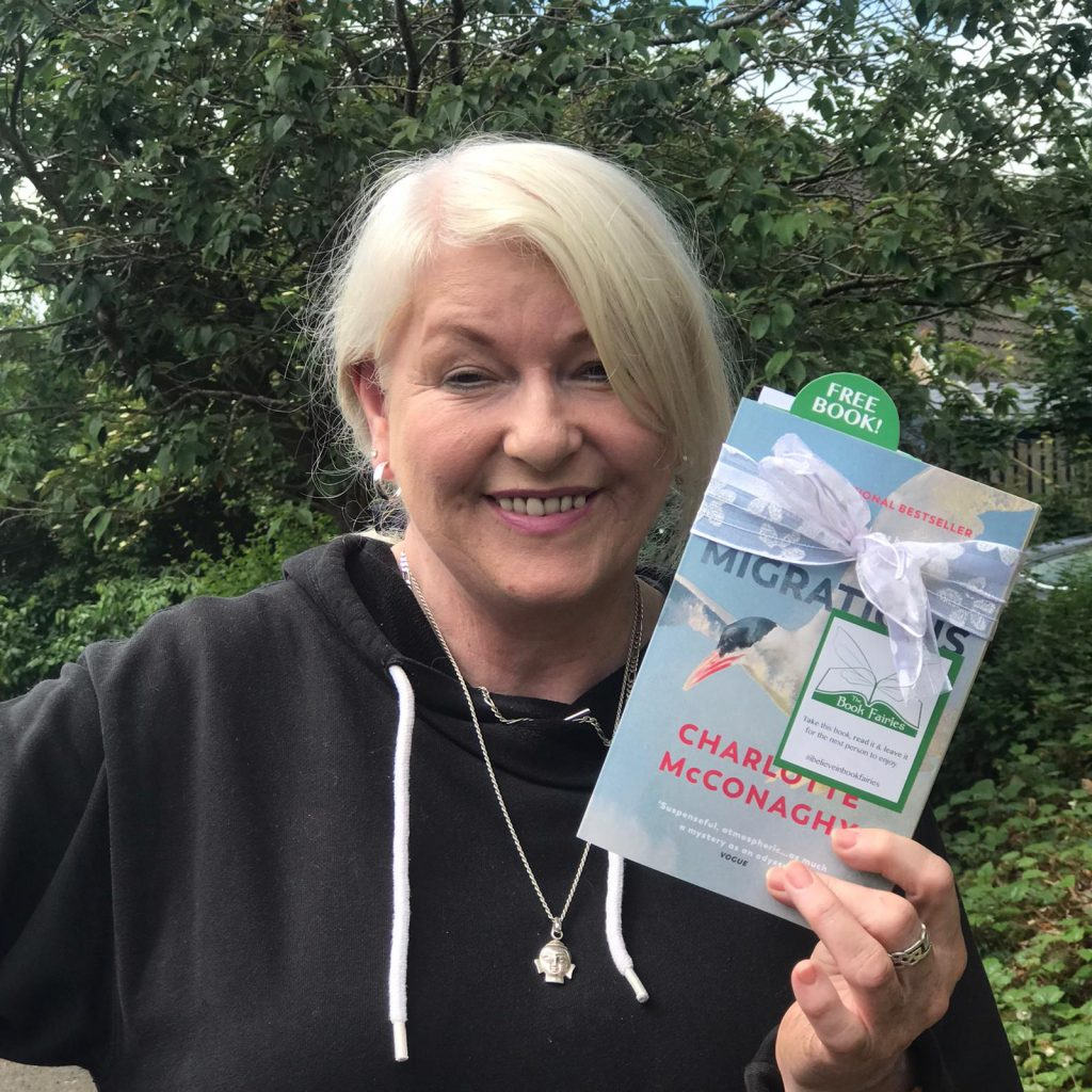 BOOK FOUND Book Fairies share copies of Migrations by Charlotte McConaghy published by Vintage Books