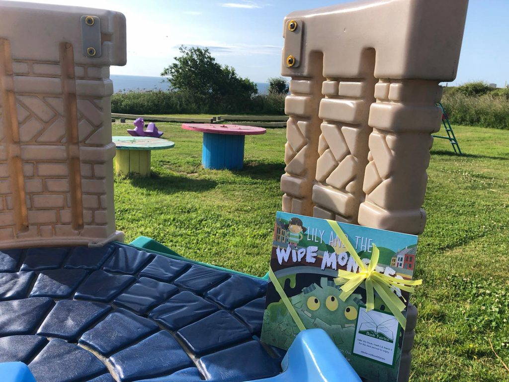 Lily and the Wipe Monster joins The Book Fairies in a lovely playground
