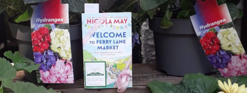 Welcome to Ferry Lane Market with The Book Fairies hiding copies at a florist
