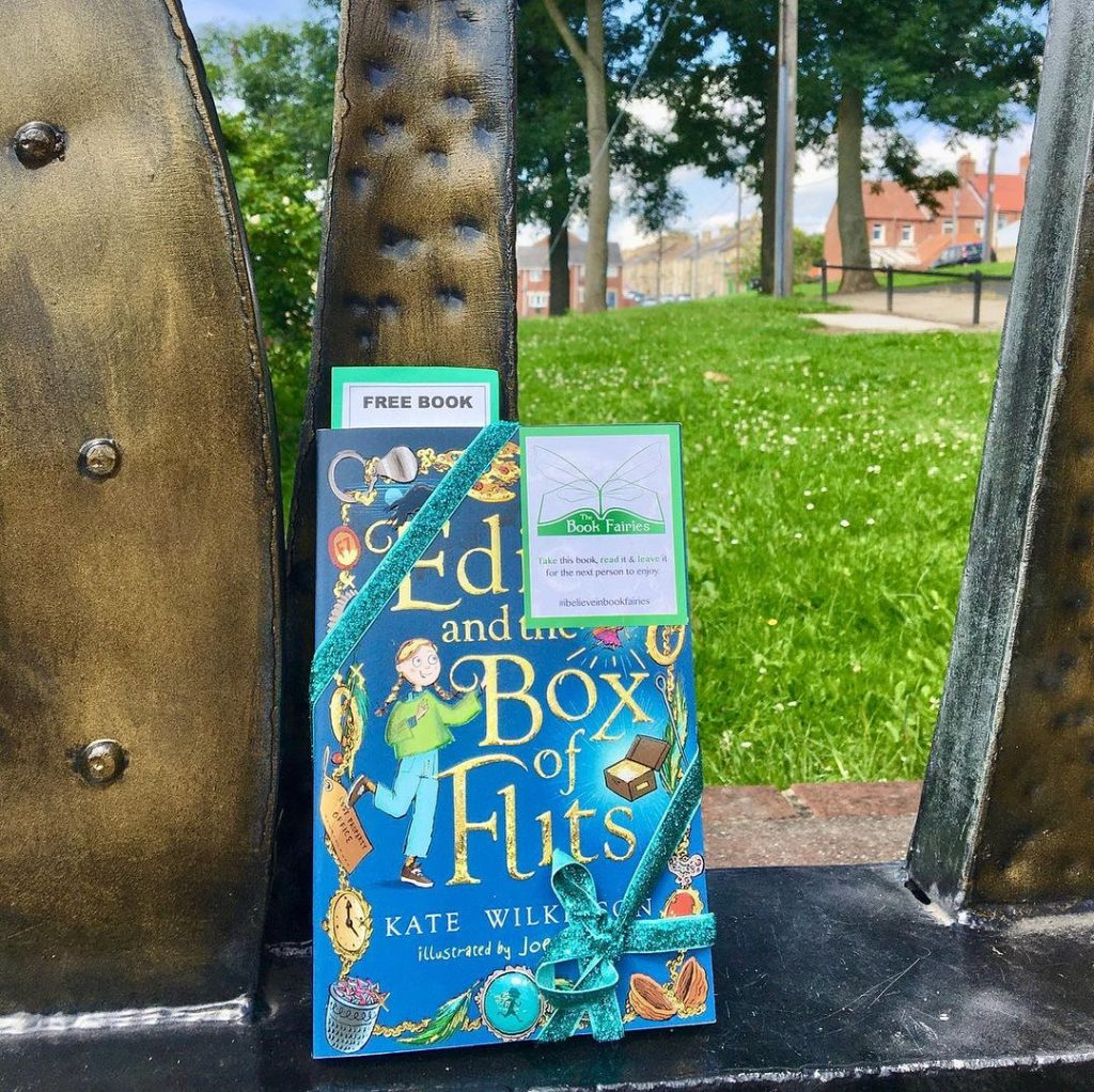 Edie and the Box of Flits hidden by The Book Fairies in Durham