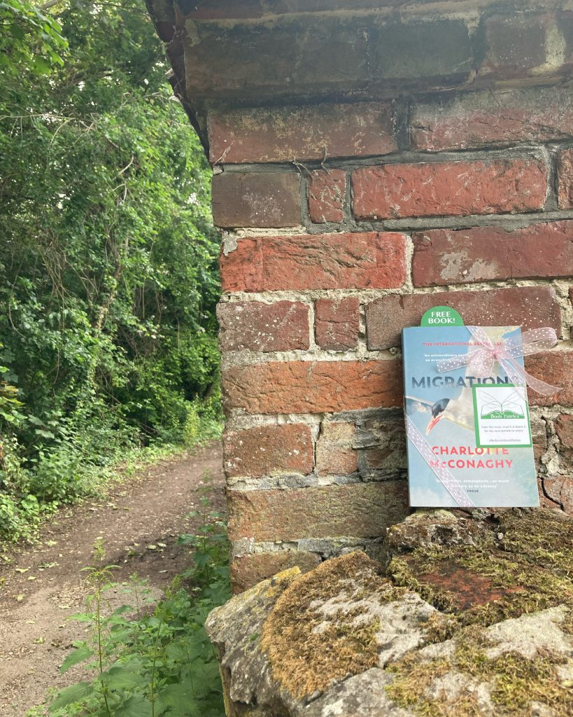 Book Fairies share copies of Migrations by Charlotte McConaghy published by Vintage Books on a trail