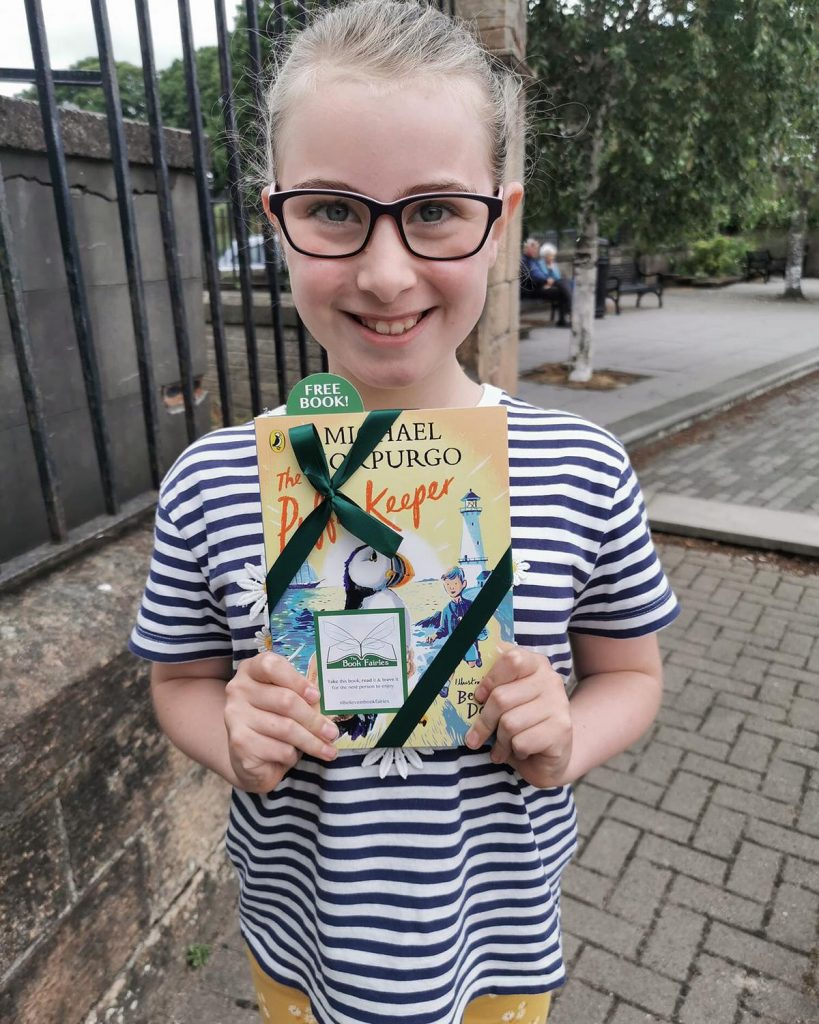 The Puffin Keeper by Michael Morpurgo is hidden by The Book Fairies - book finder