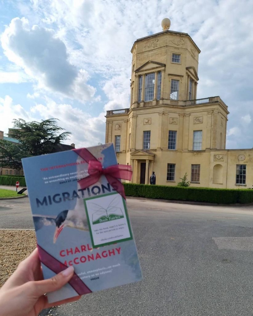 Book Fairies share copies of Migrations by Charlotte McConaghy published by Vintage Books in Oxford