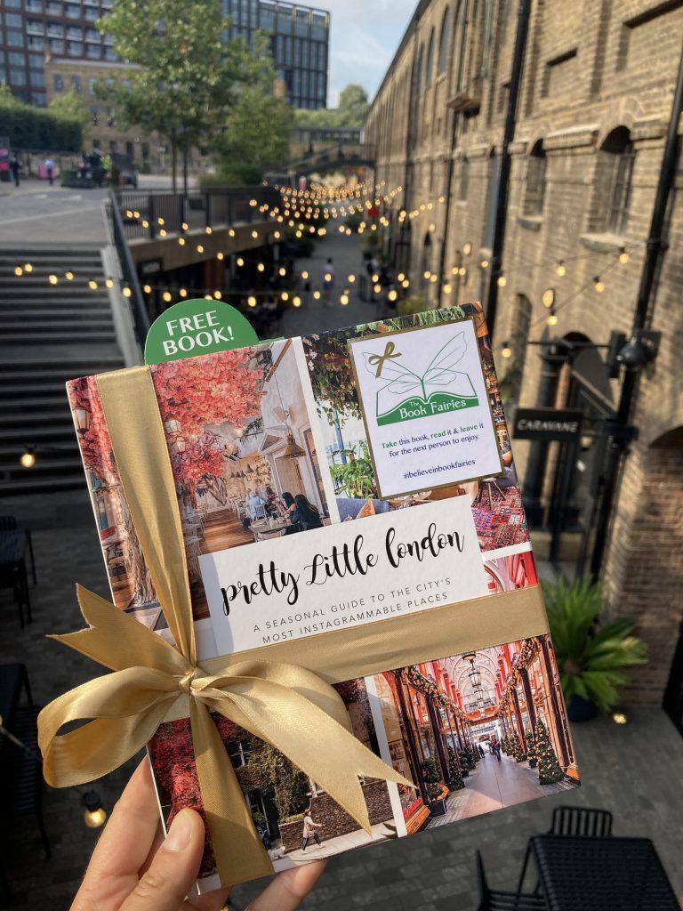 Pretty Little London hidden by book fairies - Coal Drops Yard