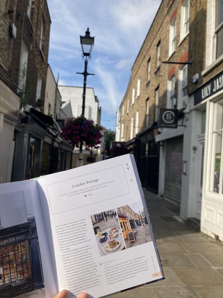 Pretty Little London hidden by book fairies - Camden Passage Islington