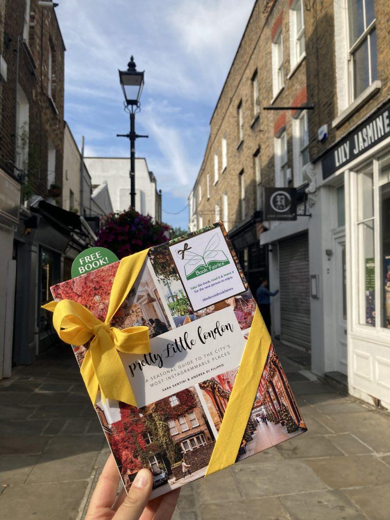 Pretty Little London hidden by book fairies - Camden Passage