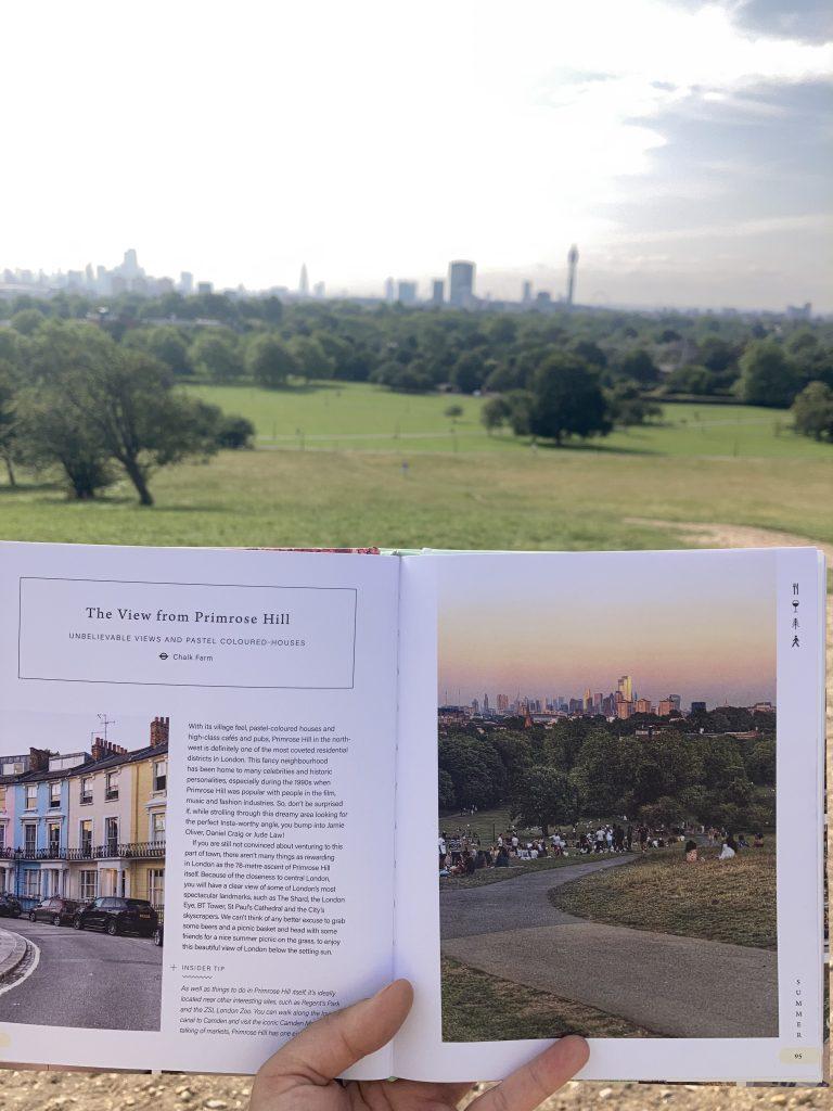 Pretty Little London hidden by book fairies - Primrose Hill London