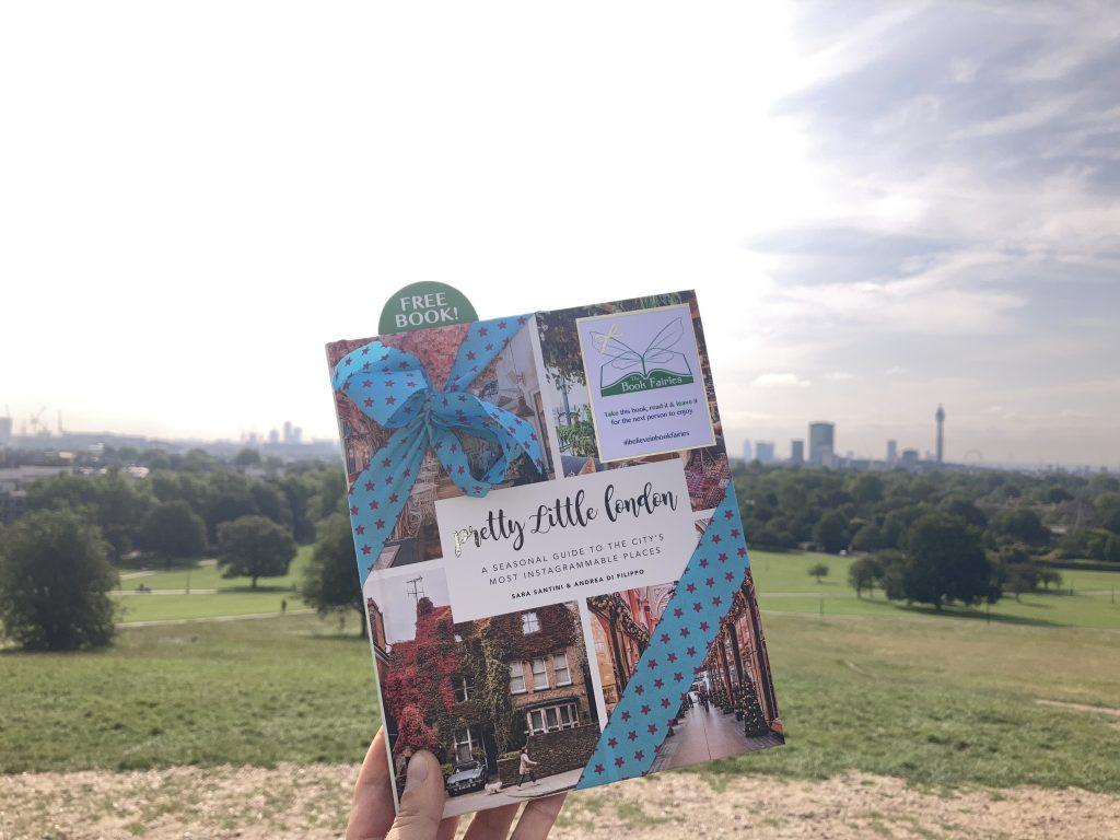 Pretty Little London hidden by book fairies - Primrose Hill