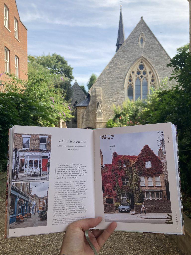 Pretty Little London hidden by book fairies - Hampstead London