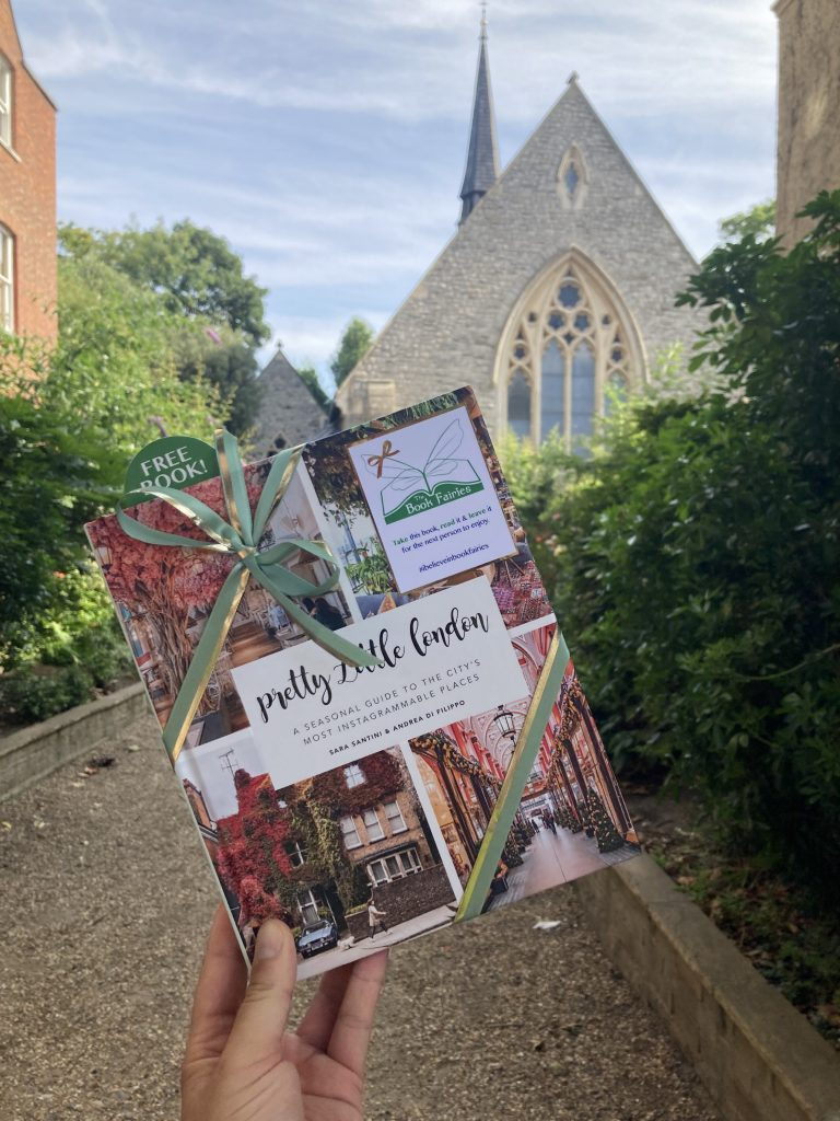 Pretty Little London hidden by book fairies - Hampstead