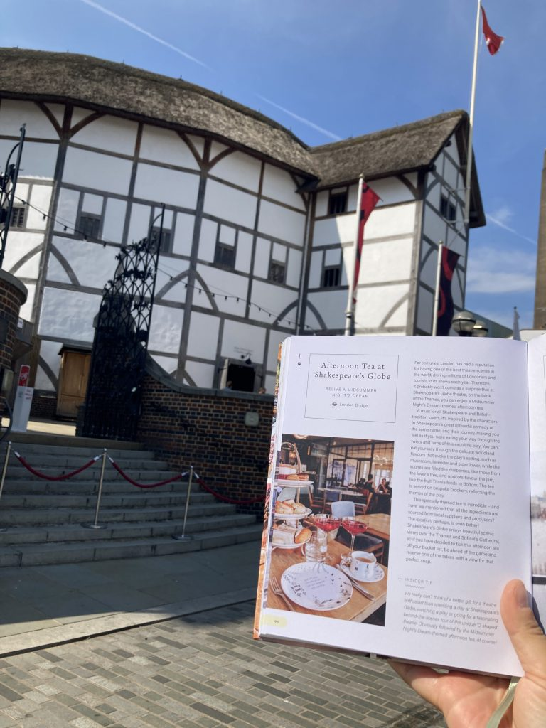 Pretty Little London hidden by book fairies - The Globe London