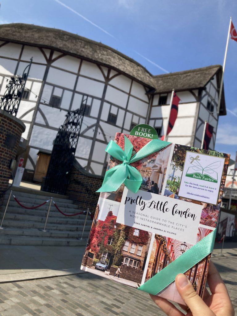 Pretty Little London hidden by book fairies - Shakespeare's Globe