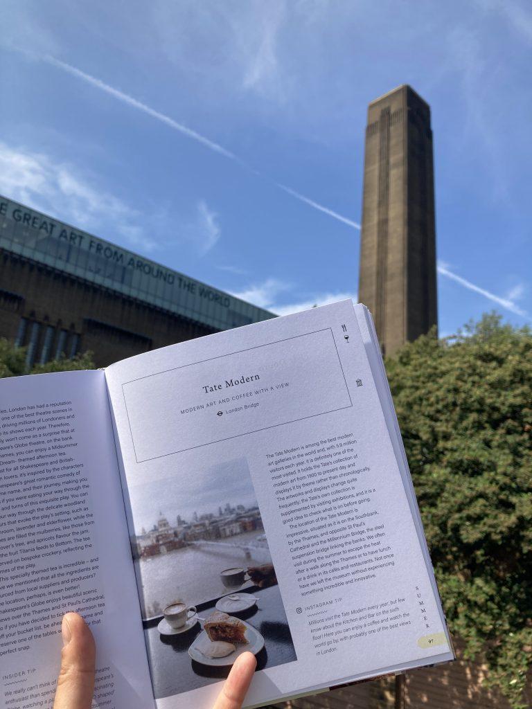 Pretty Little London hidden by book fairies - Tate Modern on the Southbank
