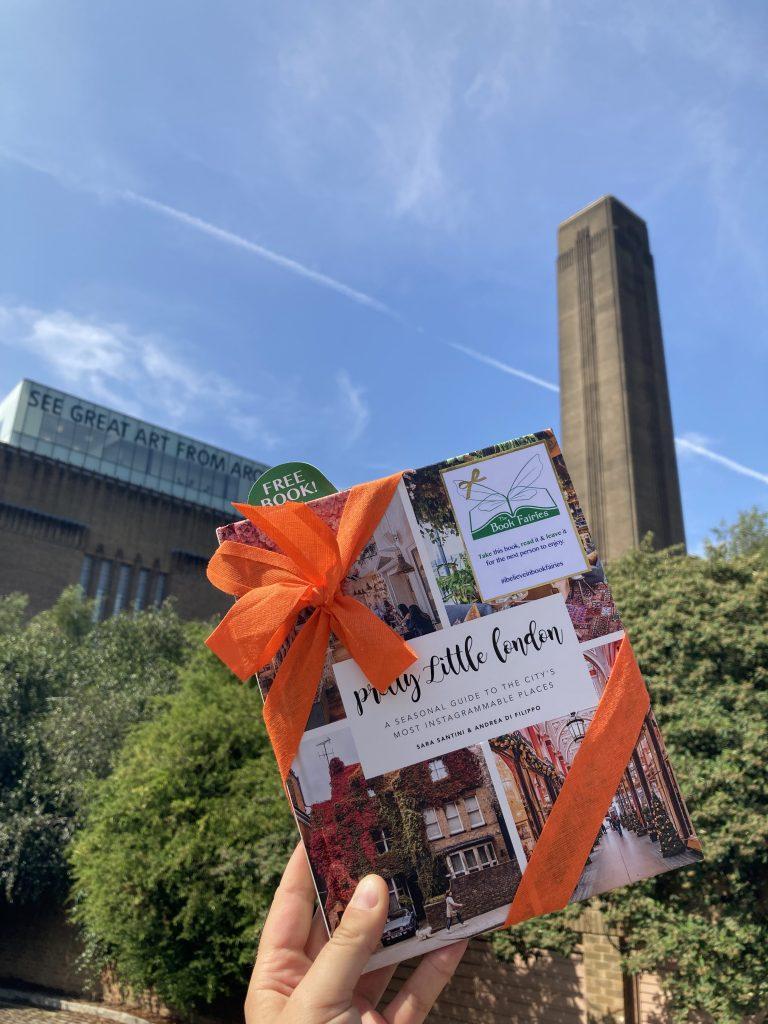 Pretty Little London hidden by book fairies - Tate Modern