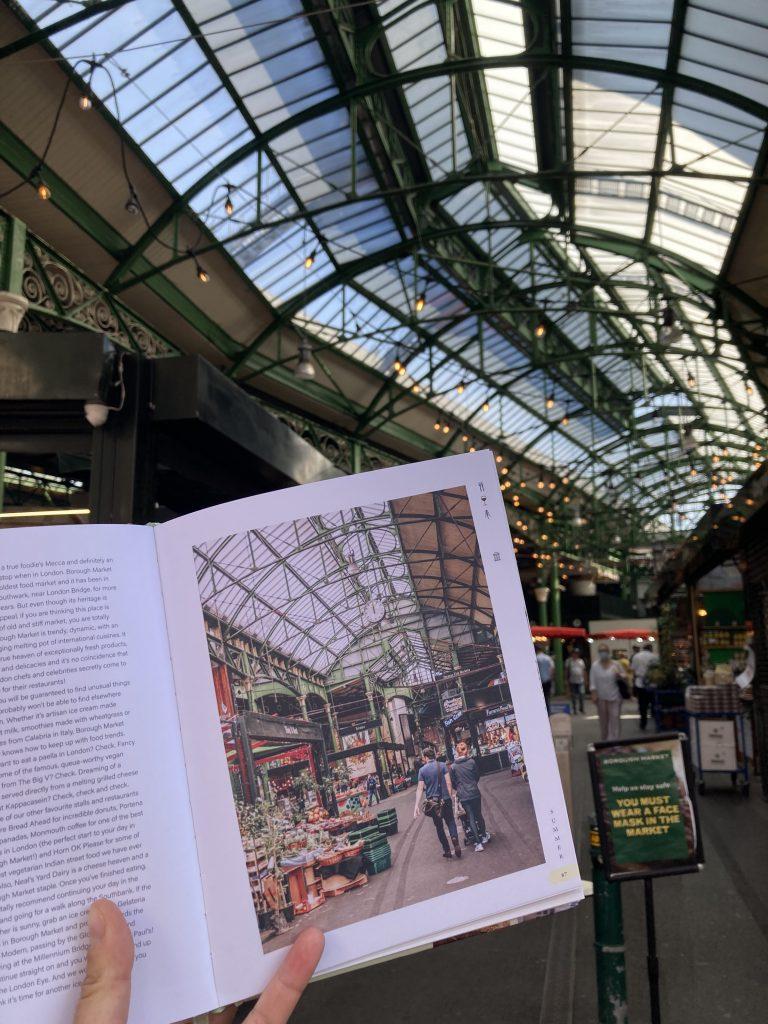 Pretty Little London hidden by book fairies - Borough Market London