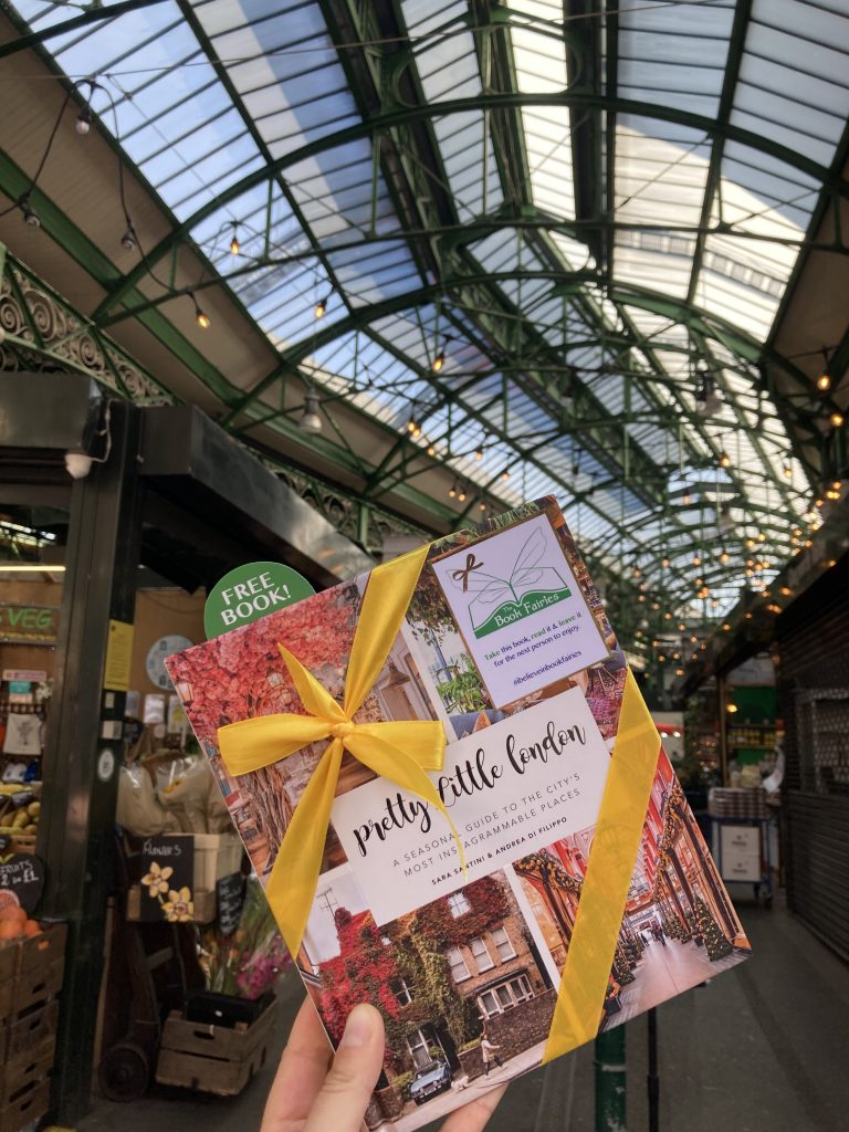 Pretty Little London hidden by book fairies - Borough Market