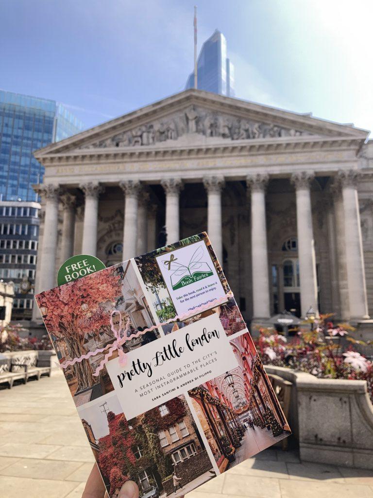 Pretty Little London hidden by book fairies - The Royal Exchange