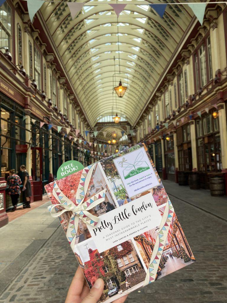 Pretty Little London hidden by book fairies - Leadenhall Market