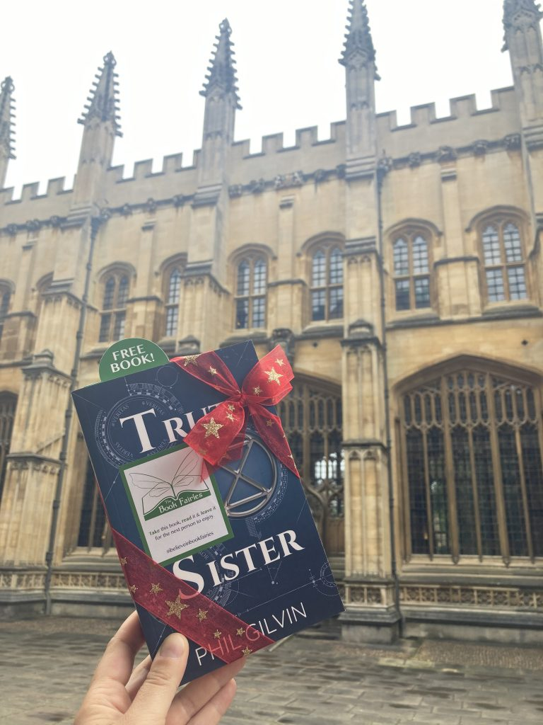 Truth Sister by Phil Gilvin hidden by Book Fairies UK Bodleian