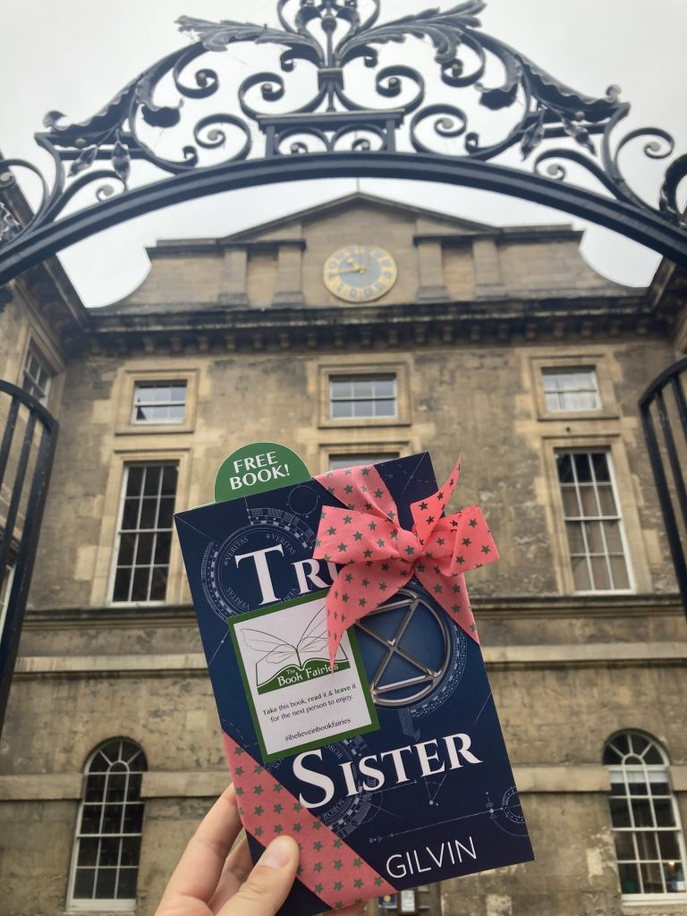 Truth Sister by Phil Gilvin hidden by Book Fairies UK at the Bodleian Library