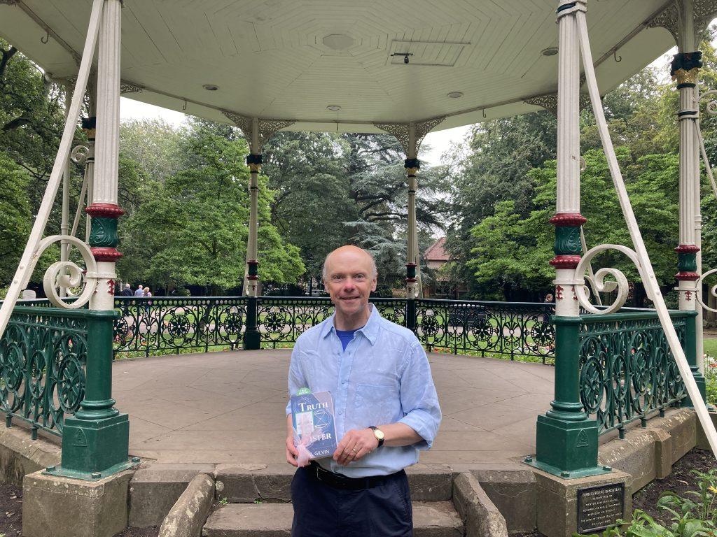 Truth Sister by Phil Gilvin hidden by Book Fairies UK - meet the author