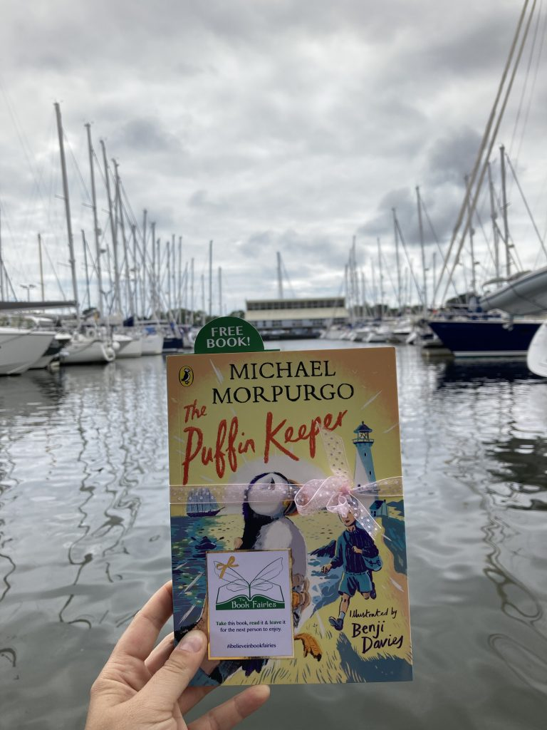 The Puffin Keeper by Michael Morpurgo is hidden by The Book Fairies in Hampshire