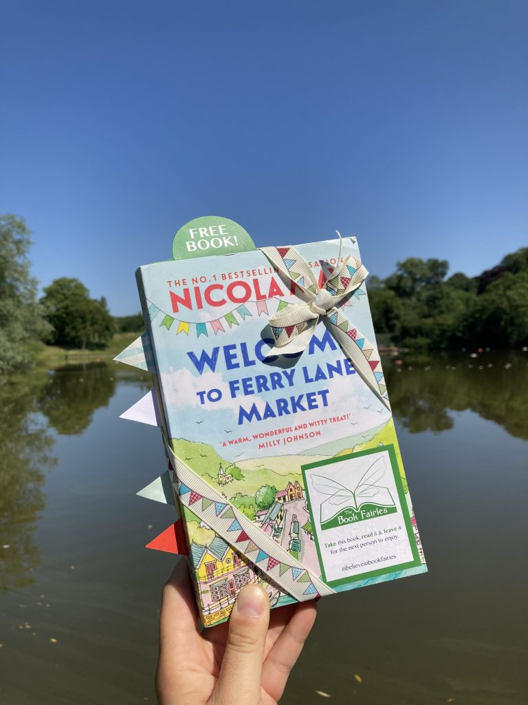 Welcome to Ferry Lane Market with The Book Fairies hiding copies in Hampstead Heath