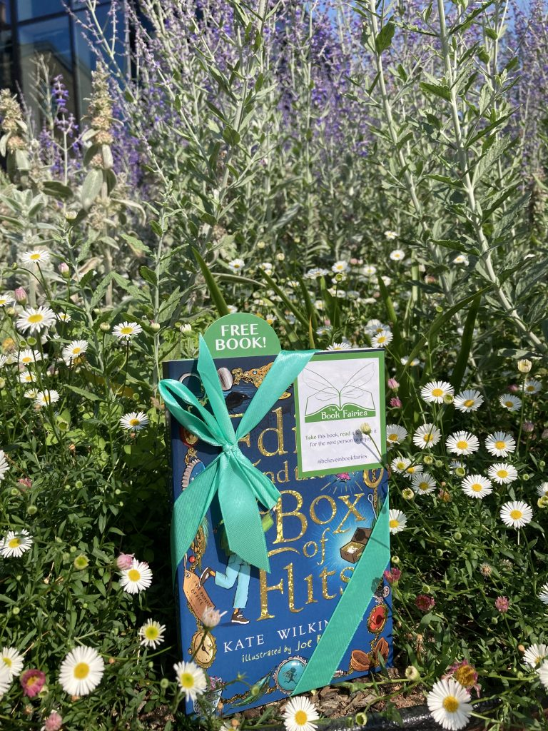 Edie and the Box of Flits hidden by The Book Fairies in London