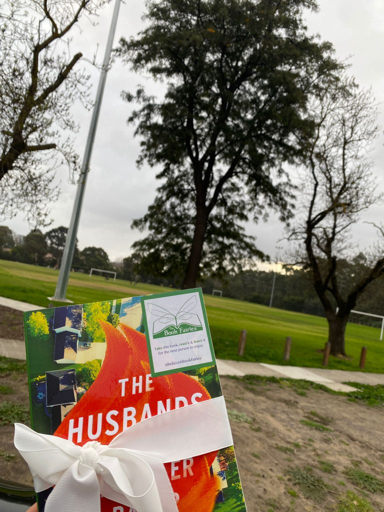Book Fairies in Australia shared copies of The Husbands by Chandler Baker in VIC