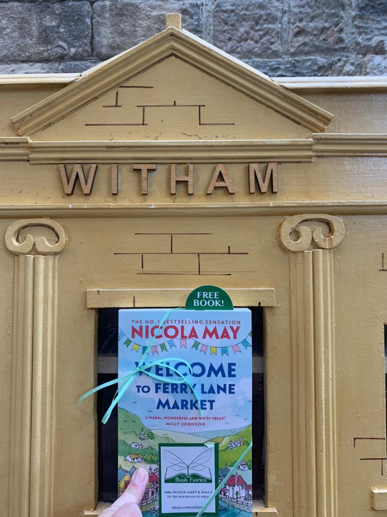 Welcome to Ferry Lane Market with The Book Fairies hiding copies in Witham