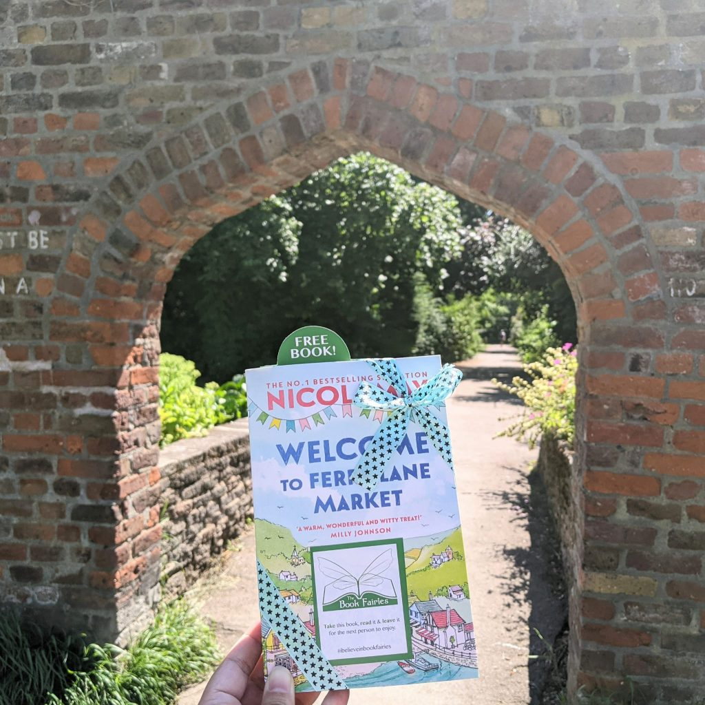 Welcome to Ferry Lane Market with The Book Fairies hiding copies in north London