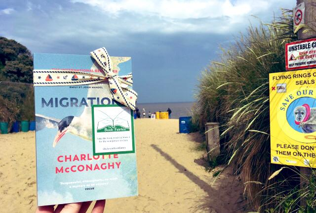 Book Fairies share copies of Migrations by Charlotte McConaghy published by Vintage Books - in Norwich