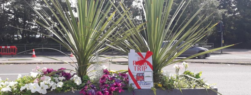 The Book Fairies leave copies of Beth O'Leary's novel The Road Trip UK