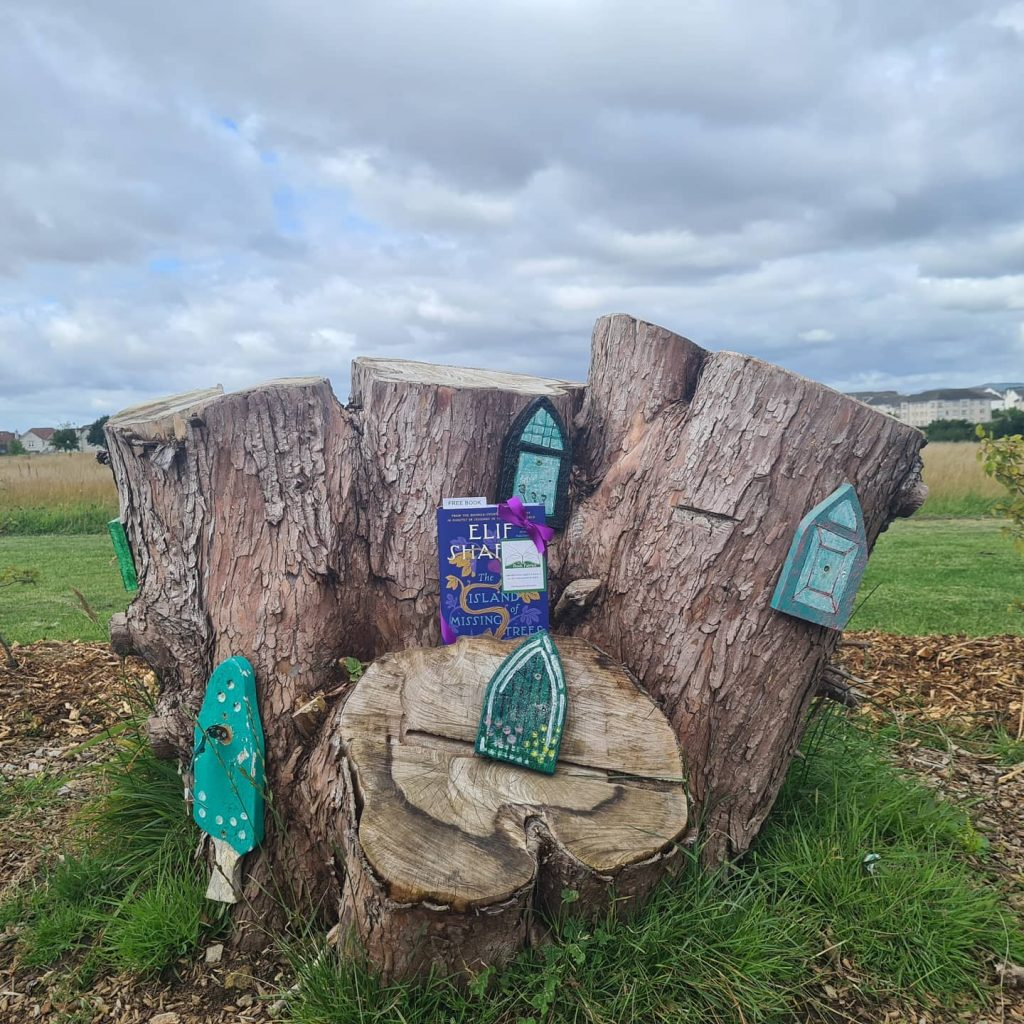 The Book Fairies share The Island of Missing Trees by Elif Shafak in Scotland