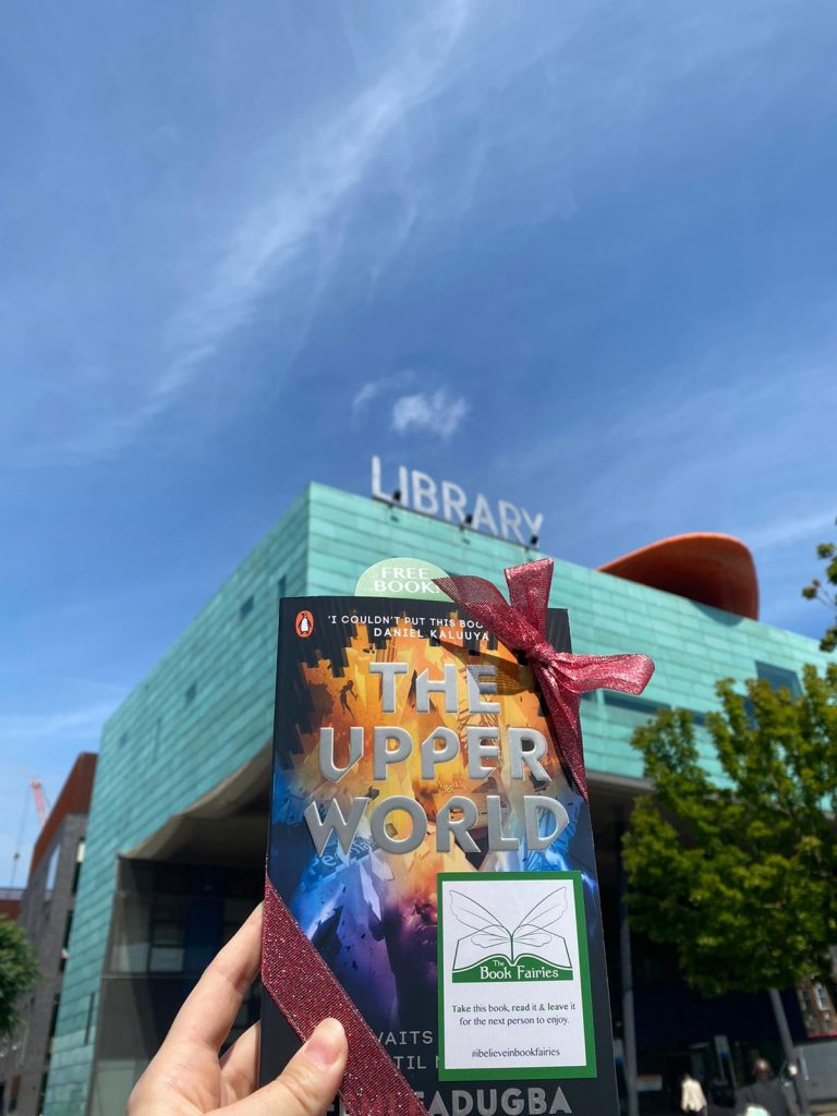 Book Fairies follow the plot of The Upper World by Femi Fatugba at Peckham Libraryy