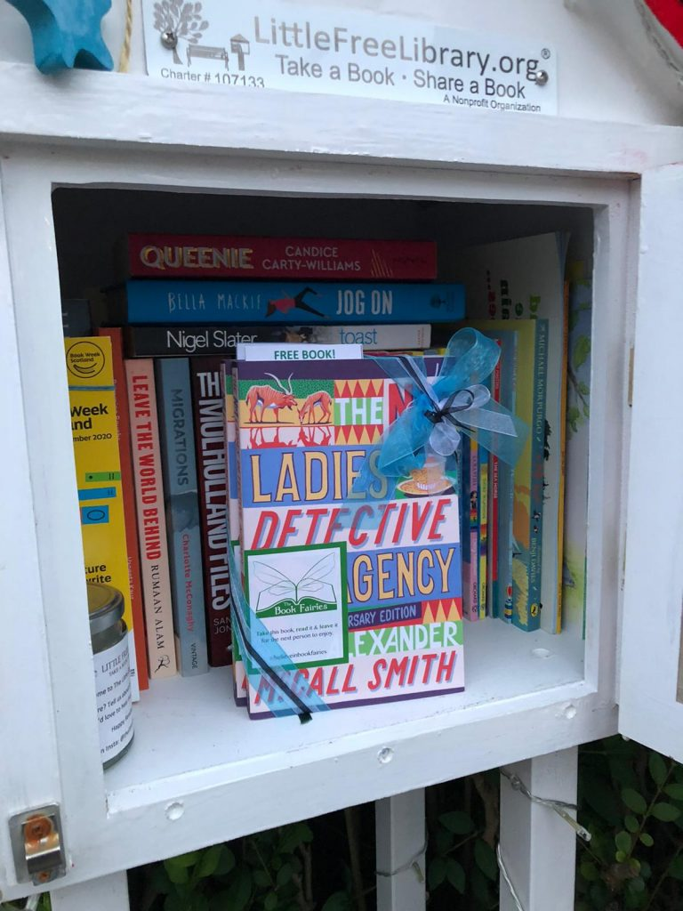 The Book Fairies and Alexander McCall Smith celebrate Friendship Day in Glasgow